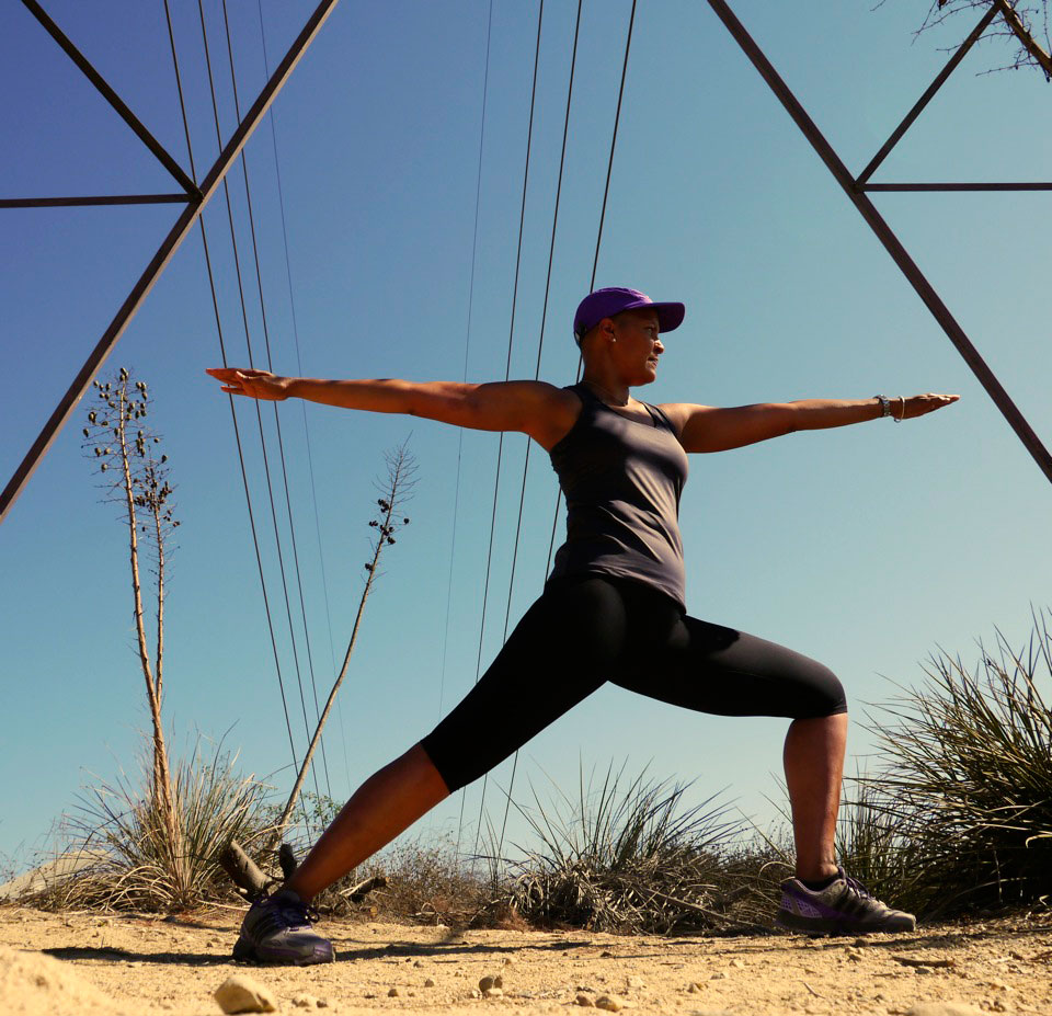 Glambassador and Breast Cancer Fighter Sasaprasa Takes A Hike with Runyon Canyon Apaprel