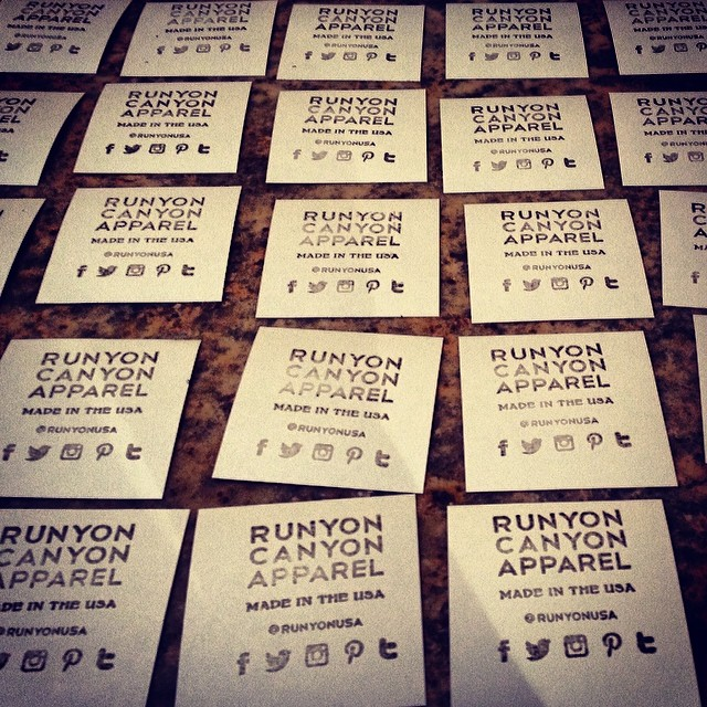 Get a Free Sticker from Runyon Canyon Apparel