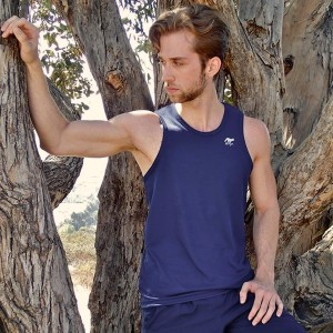 Runyon-Canyon-Apparel-Mens-Navy-Blue-Performance-Tank-Made-In-USA-M-600