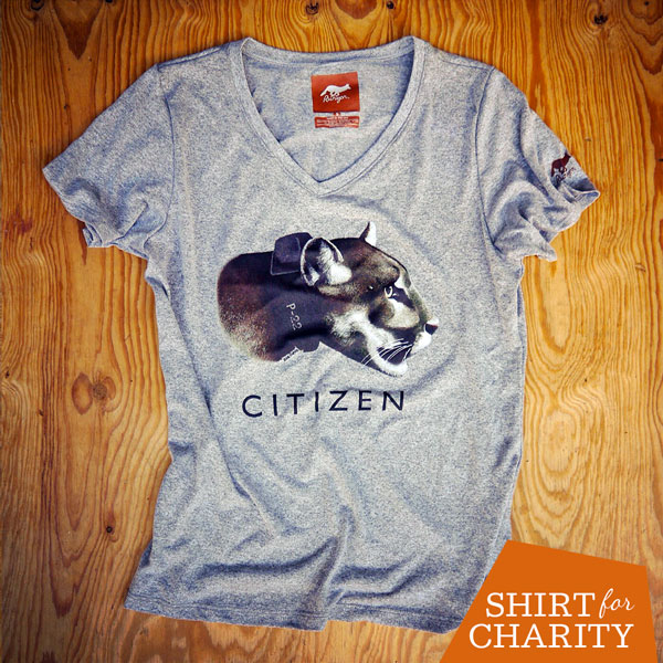 Runyon Canyon Apparel Women's P-22 Citizen Shirt benefiting Citizens for Los Angeles Wildlife
